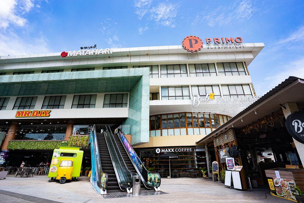 Exterior of Lippo Mall