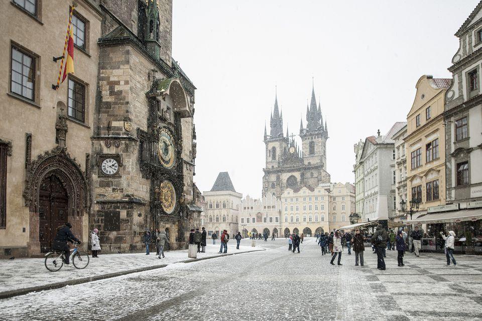 Invierno de Praga