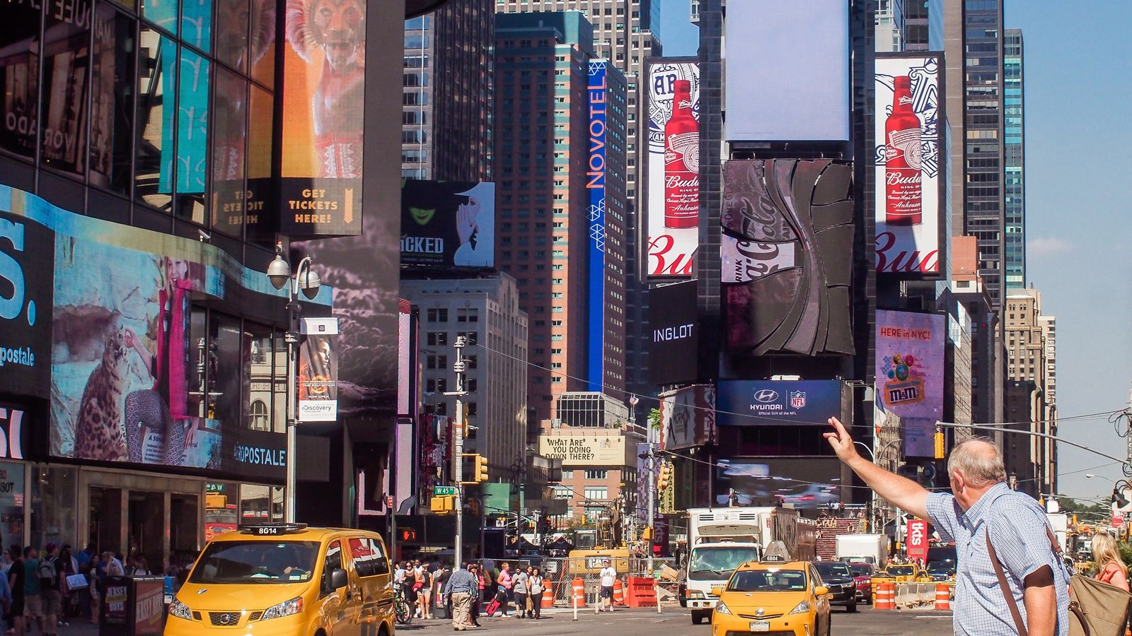 Best Places to Eat in Times Square