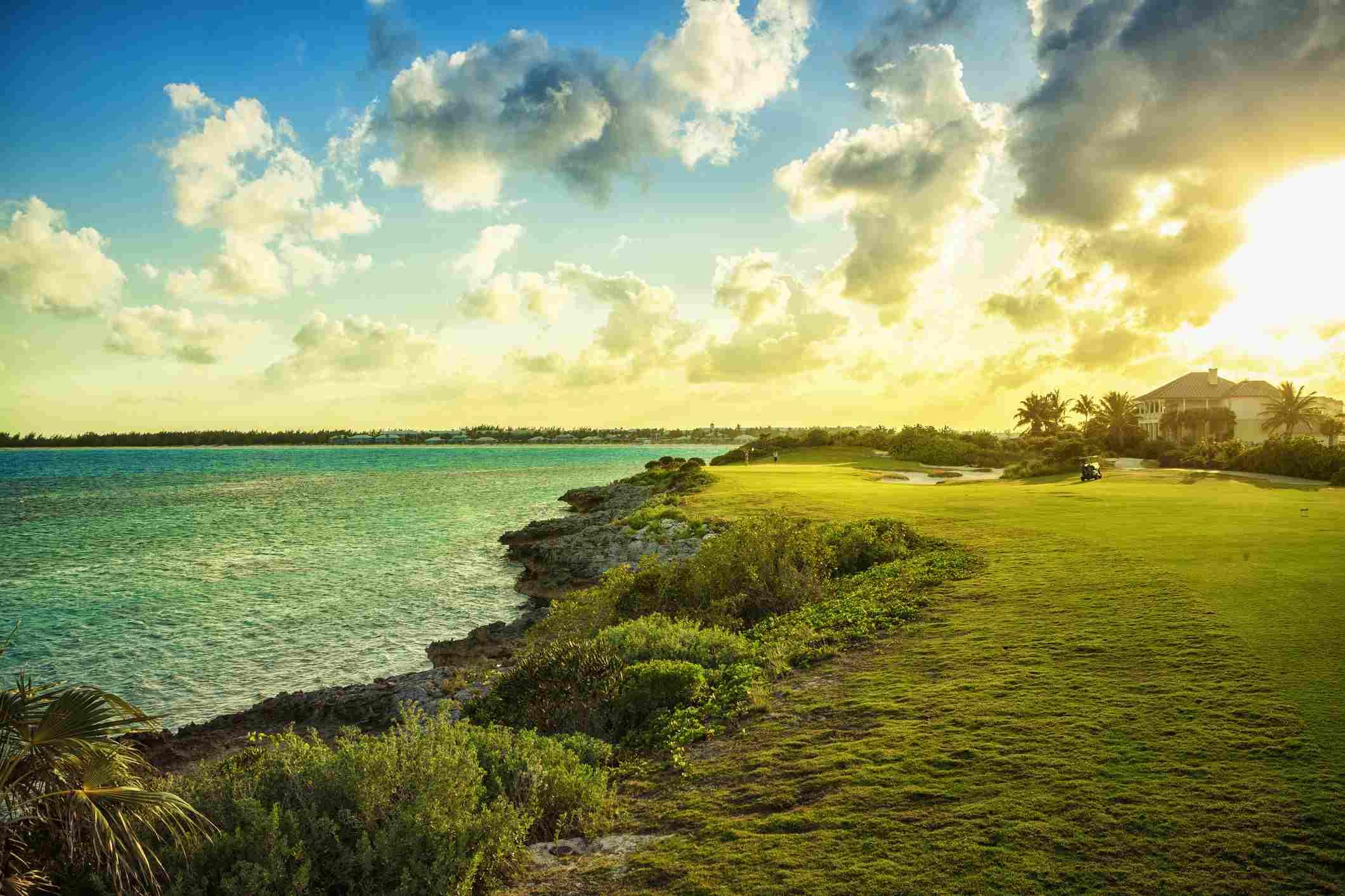 Golf course on Exumas