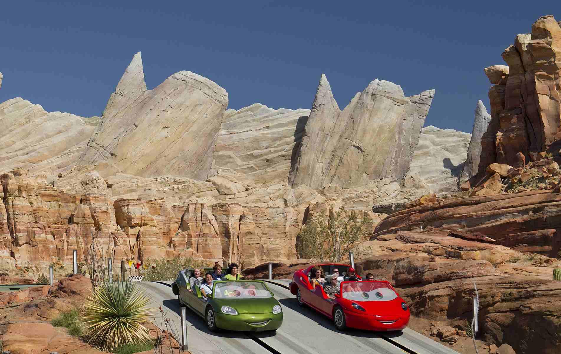 Radiator Springs Racers en Disney California Adventure