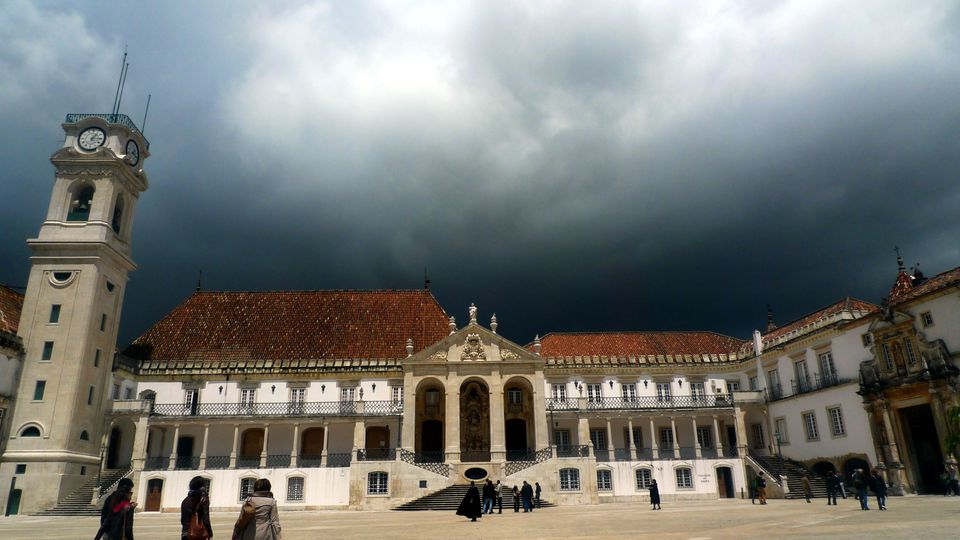 Visit Coimbra University on the way from Madrid to Lisbon