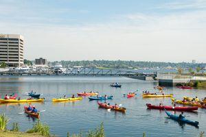 Lake Union Kayak class in Seattle