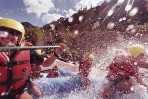 White-water rafting in Colorado, near Glenwood Springs