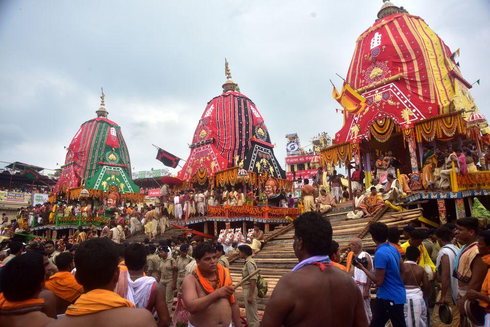 Rath Yatra festival, Puri.