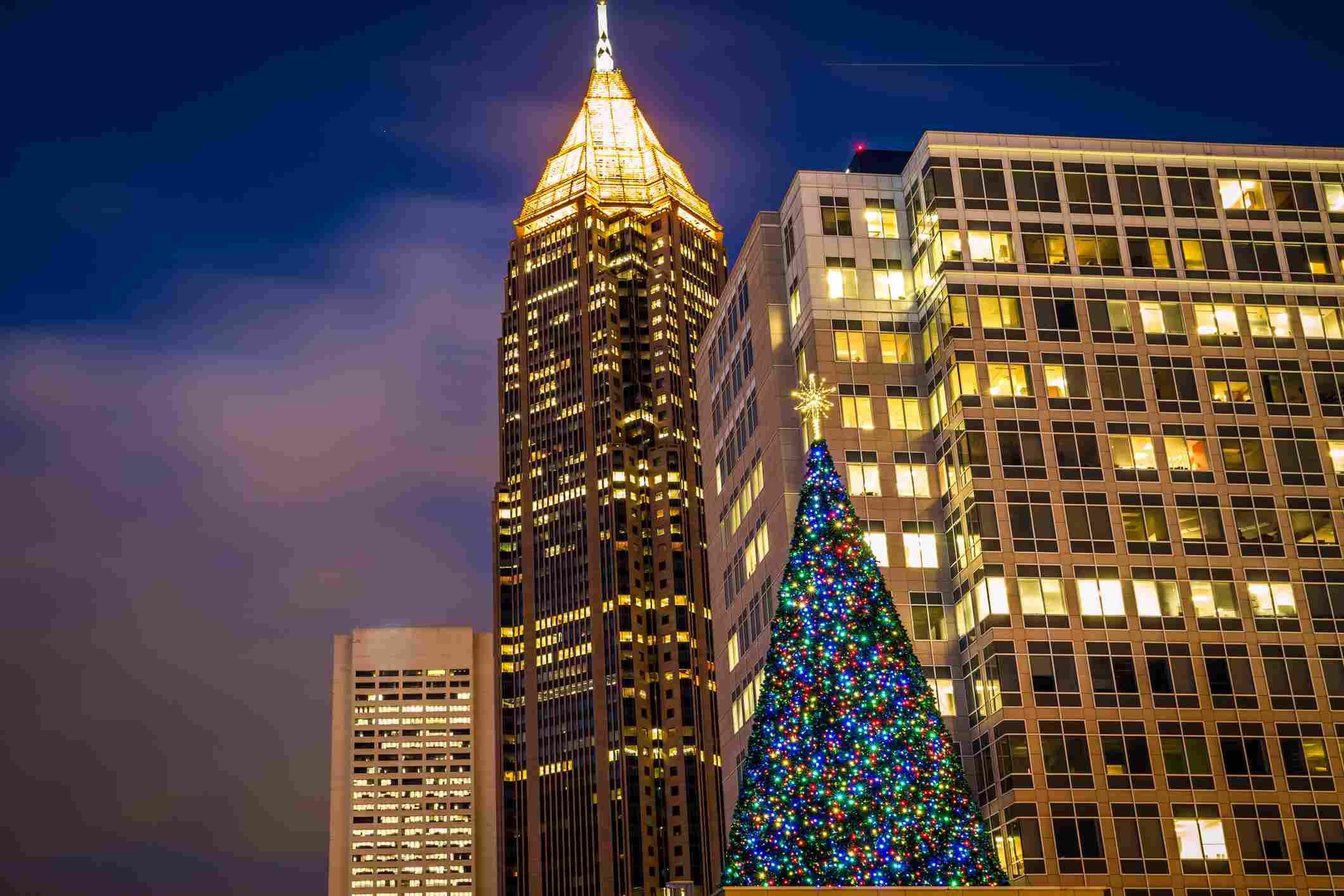Atlanta at Christmas