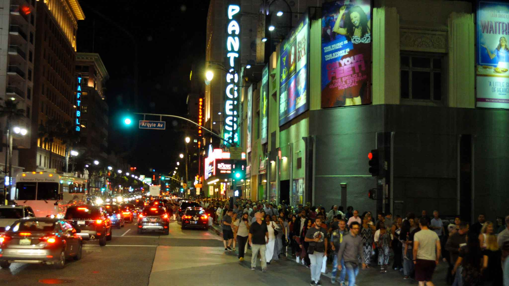 Pantages Theatre, Hollywood, California