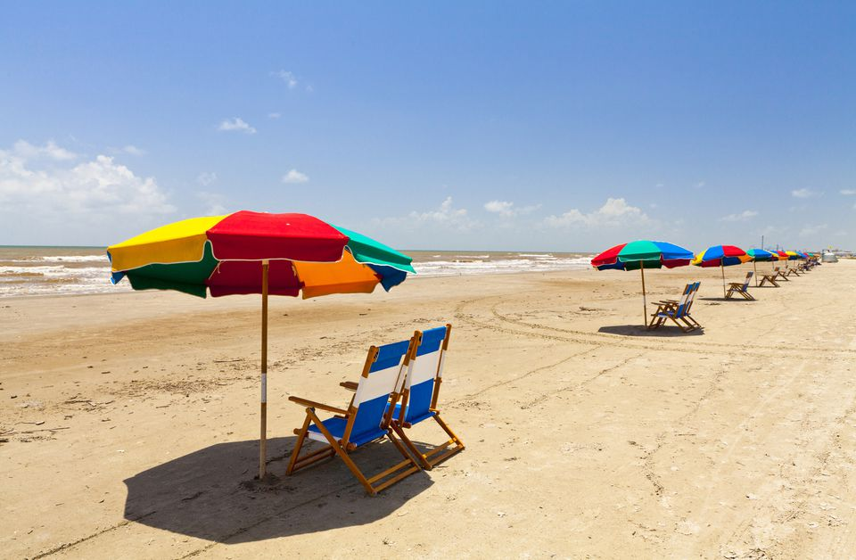 Stewart Beach, Galveston, Texas, United States of America, North America