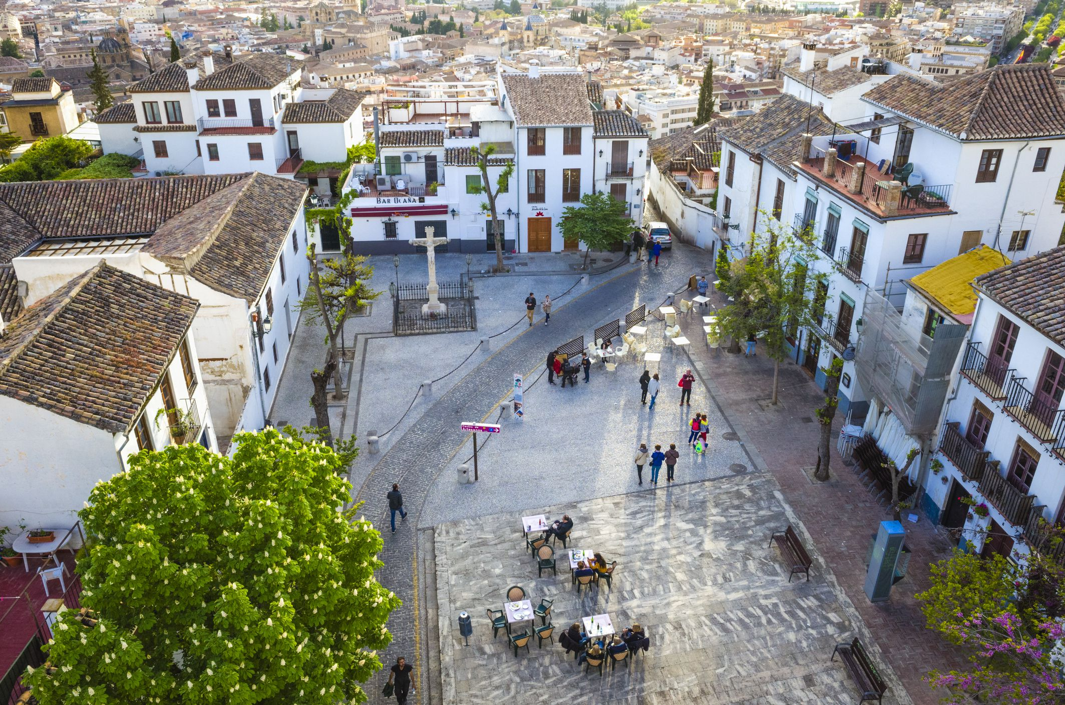Albaicin district old town