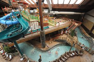 Six Flags Great Escape Lodge water park