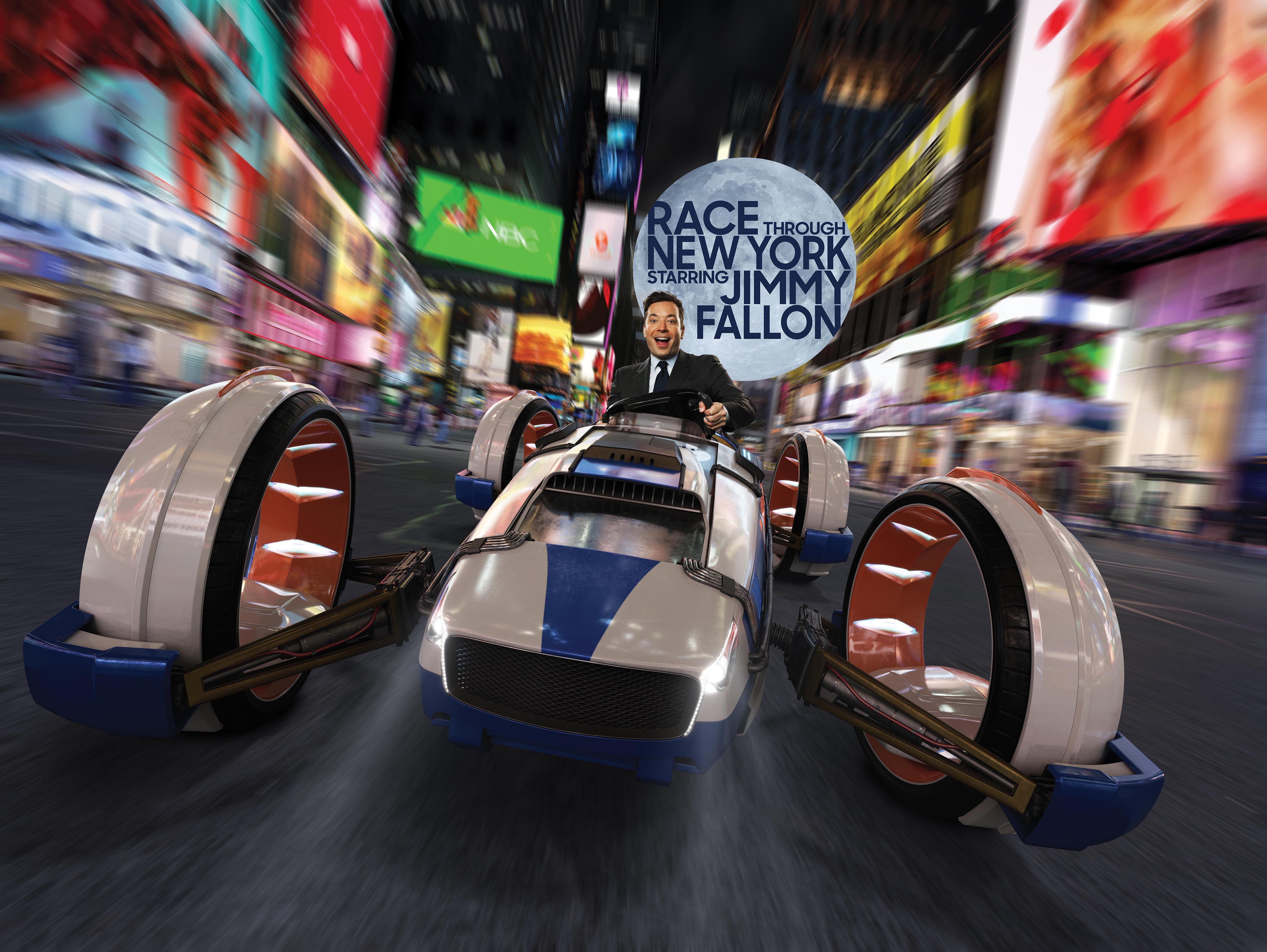 Carrera por el paseo de Nueva York en Universal