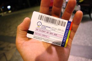 The Ticket to Your Singapore Flyer Flight