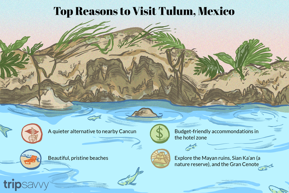 Reasons to Visit Tulum illustration