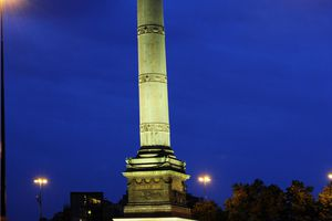 Place de la Bastille with the July Column