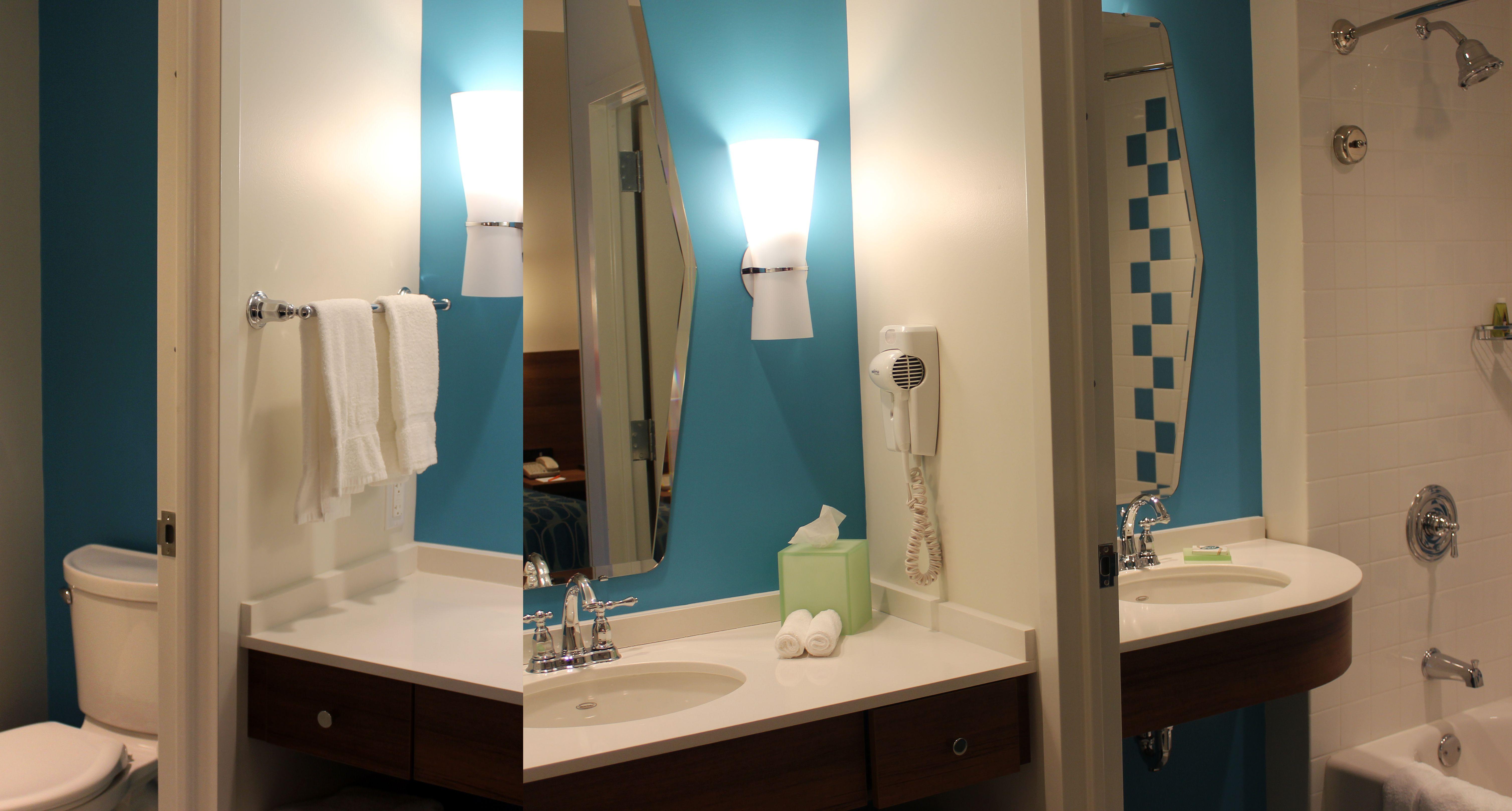 Cabana Bay Universal Orlando Bathroom