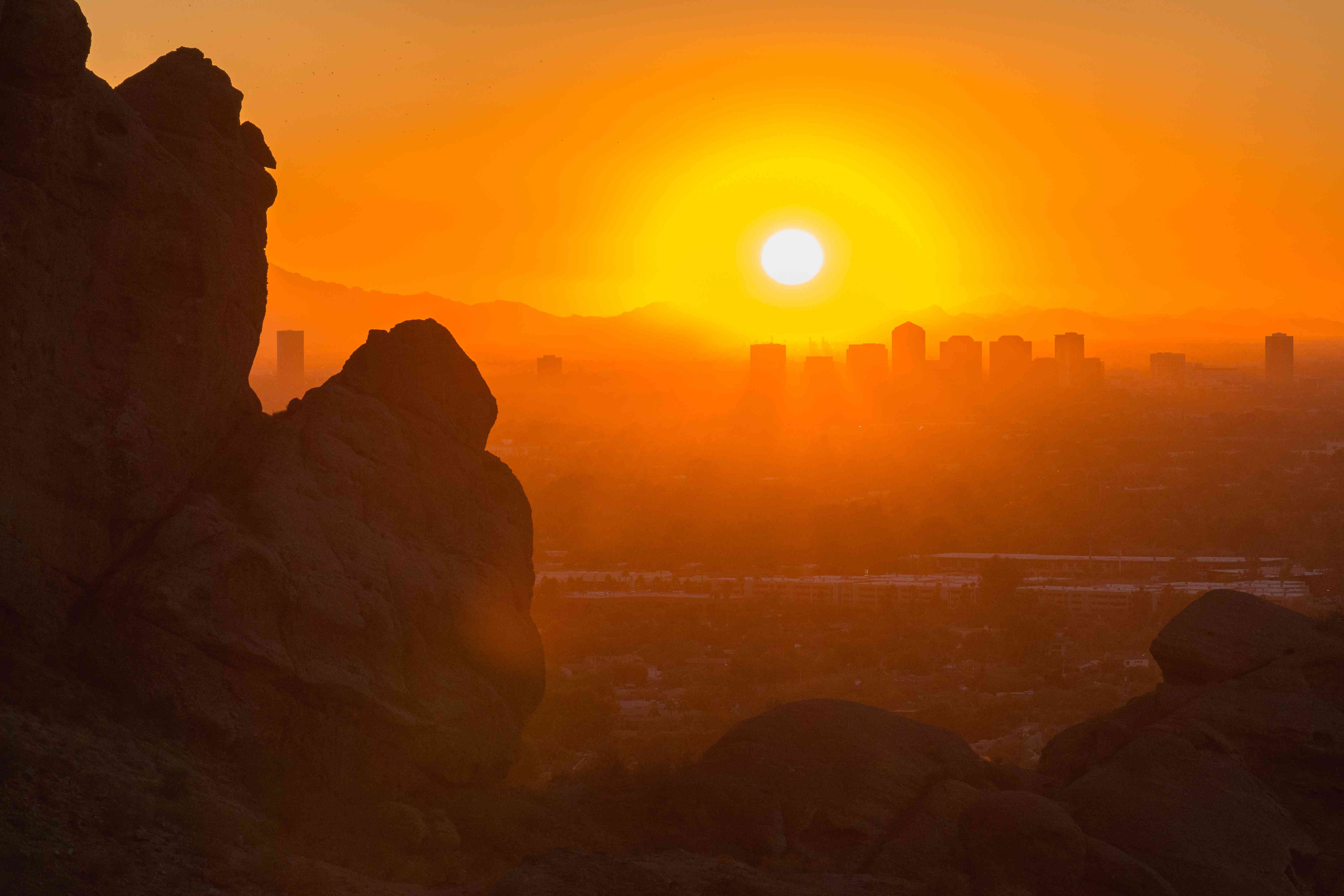 Sunset from Camelback Mountain