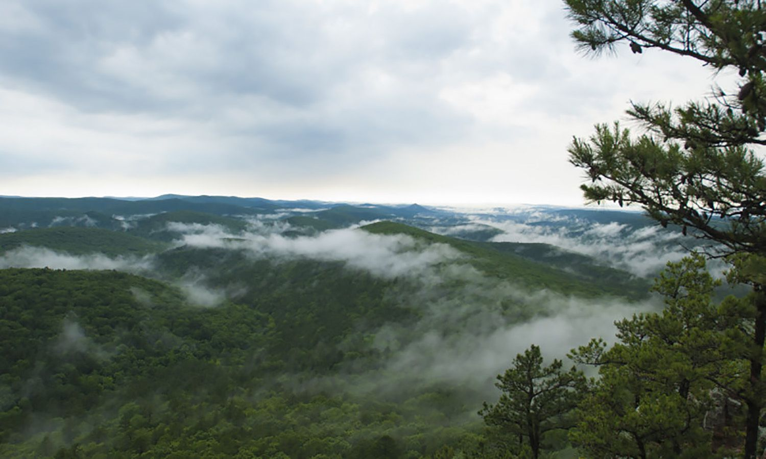 The Charlton Recreation Area is located in the Ouachita National Forest
