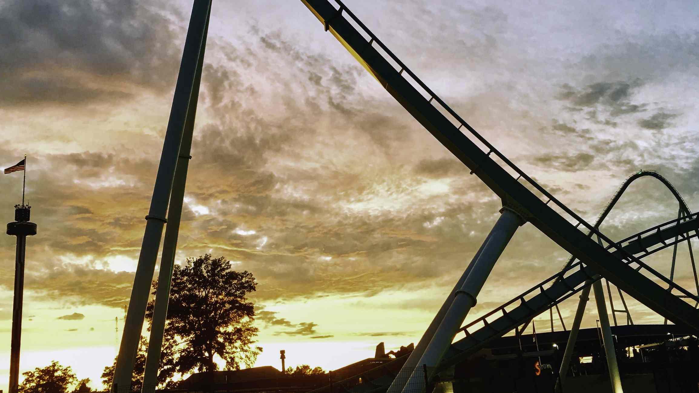Fury 325 Coaster at Carowinds Amusement Park