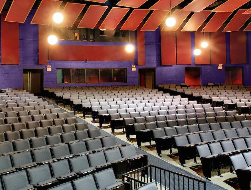Empty seats inside the Nashville Children's Theater