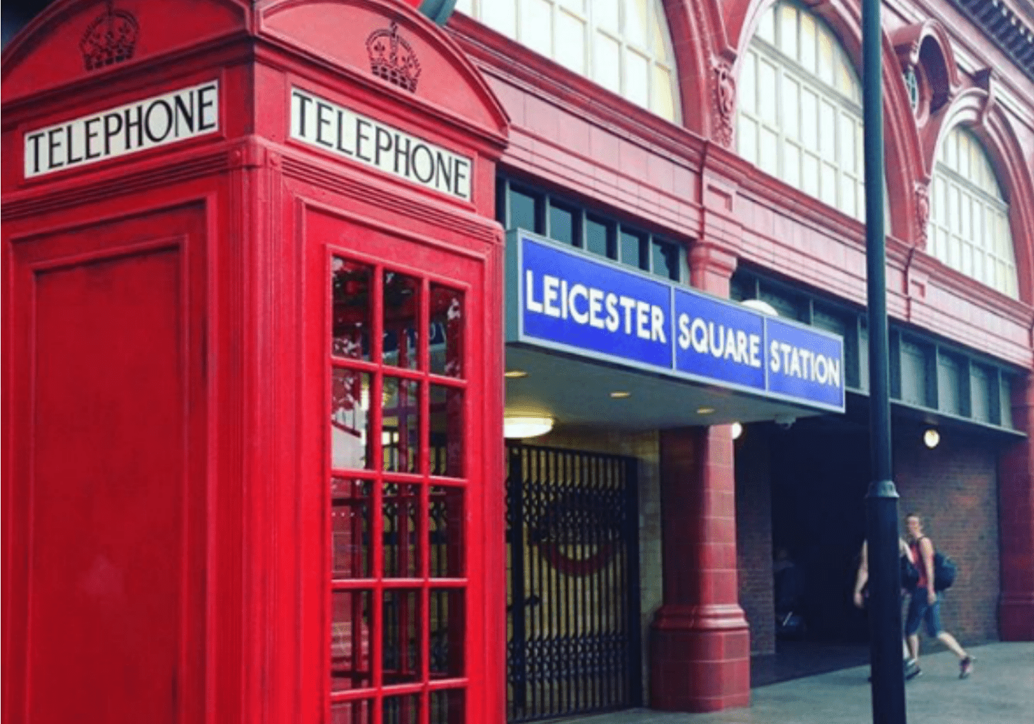 Magic Phone Booth at Wizarding World of Harry Potter