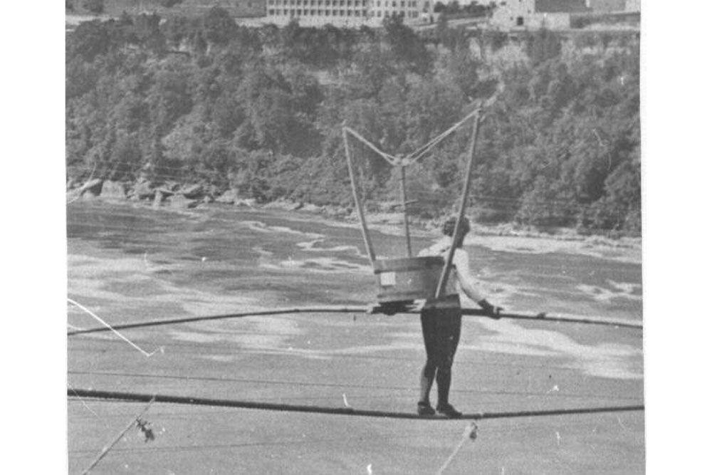 Crazy Stunts of Niagara Fall's Past