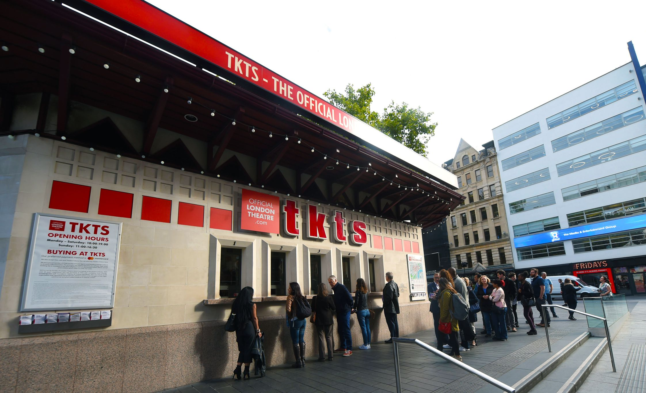 Cheap Theatre Tickets From Tkts At Leicester Square