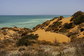 Red sand dunes at Cape Peron