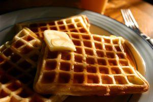 Waffles at IHOP