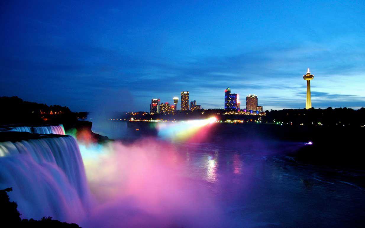 Niagara Falls State Park view
