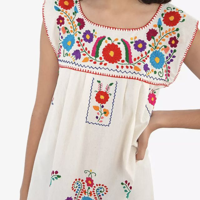 Nativa Sleeveless Puebla Mini Dress