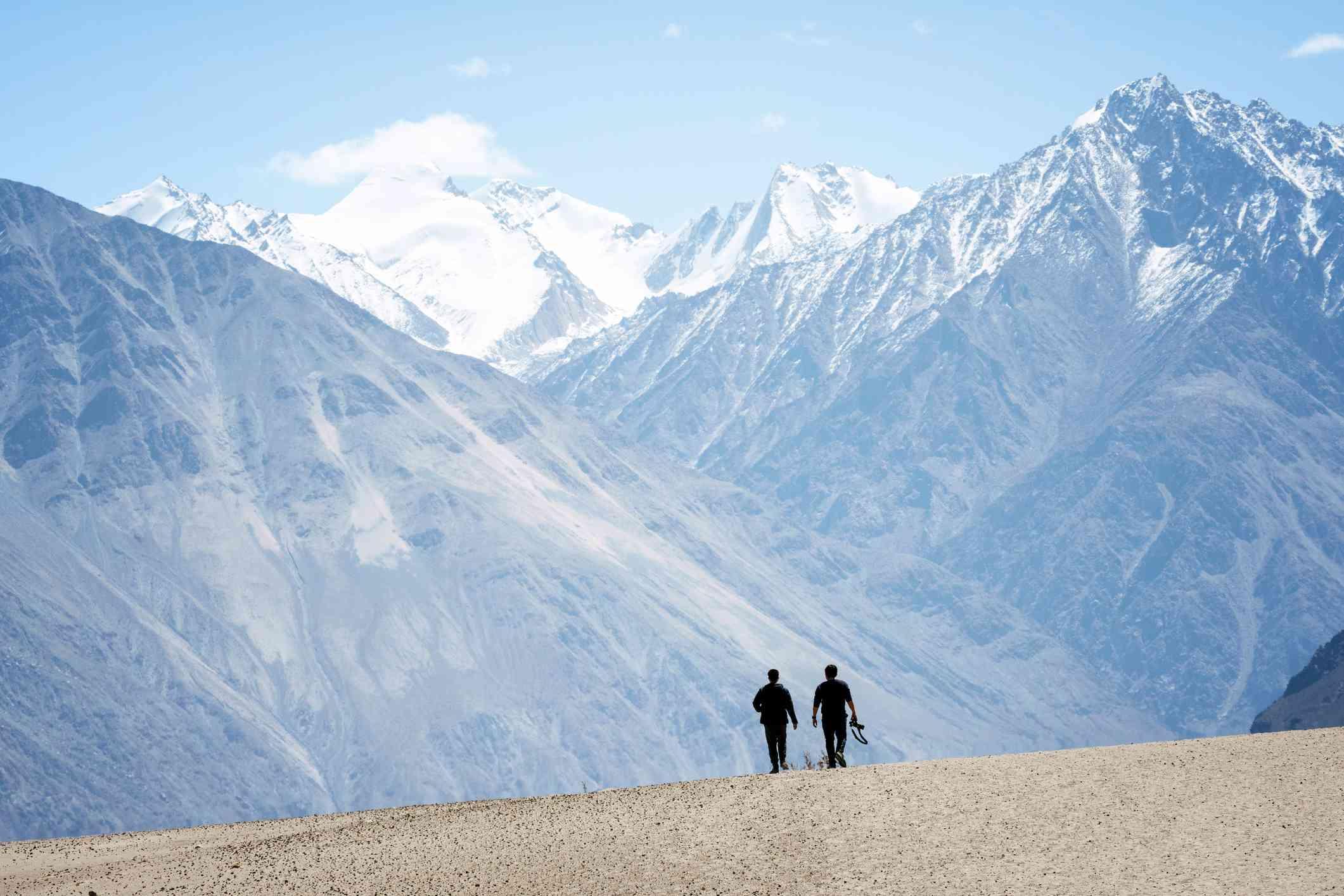 Greater Himalaya, India