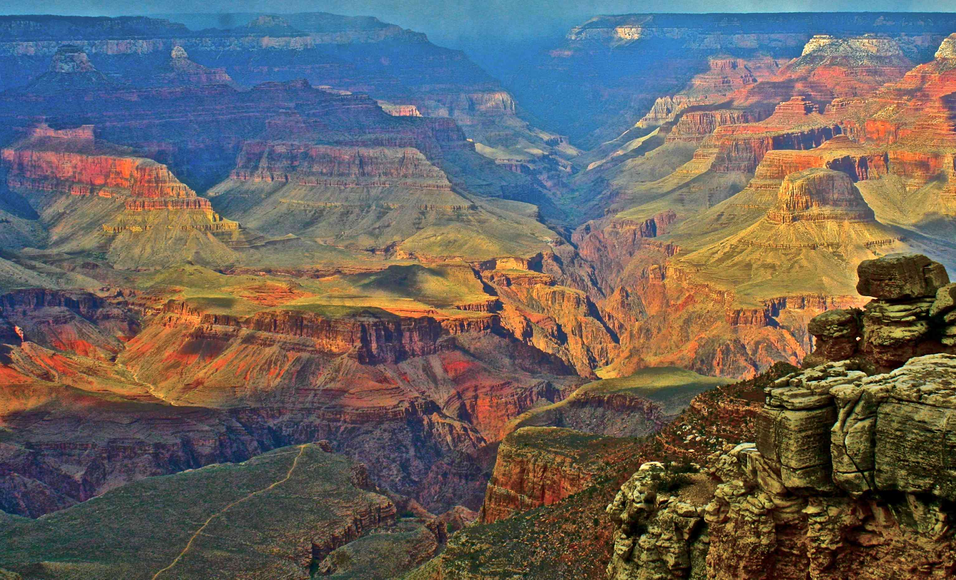 Solitude and serenity at the North Rim of the Grand Canyon overlook, located in Arizona