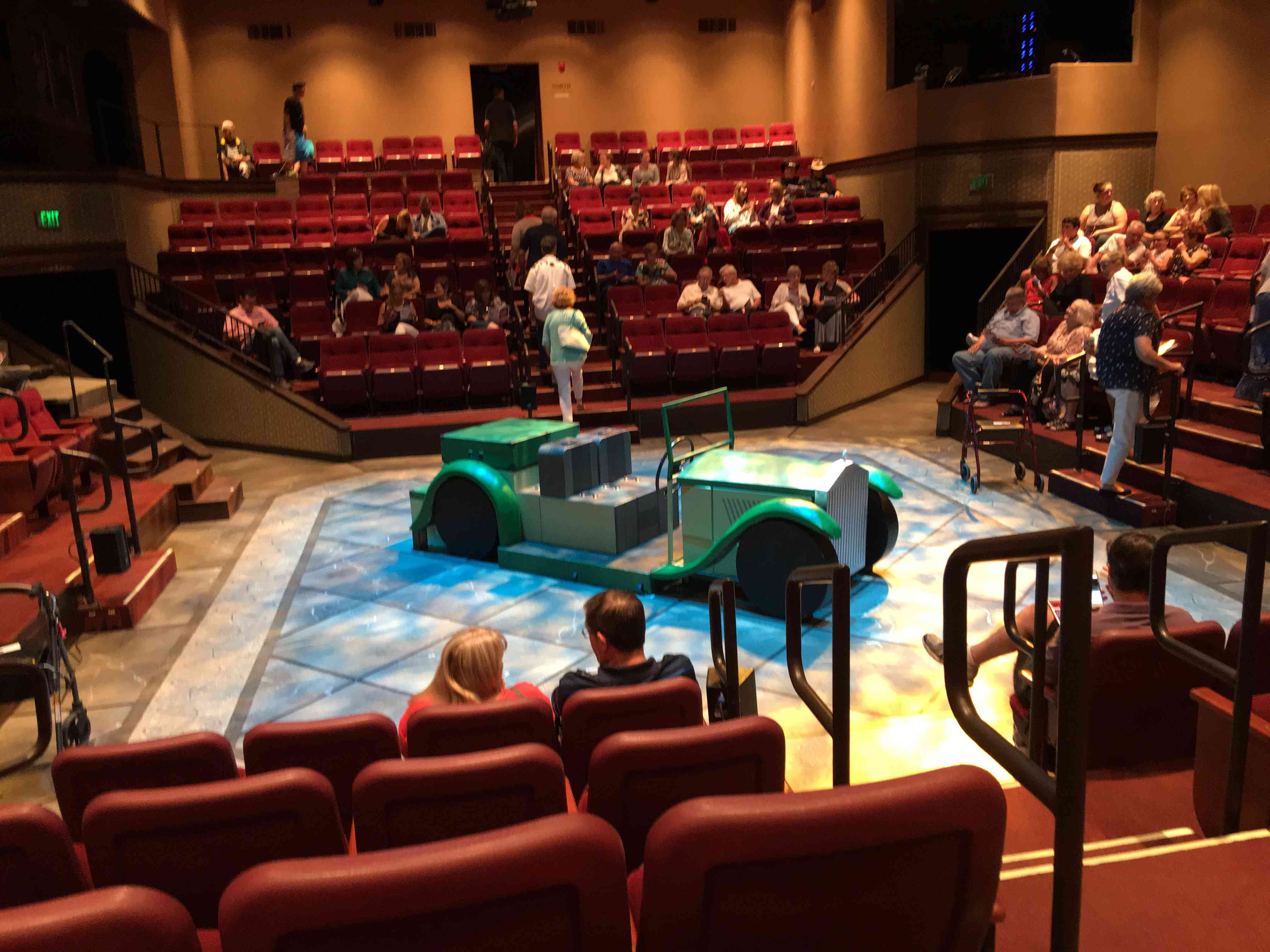 All seats are great seats at Hale Theatre