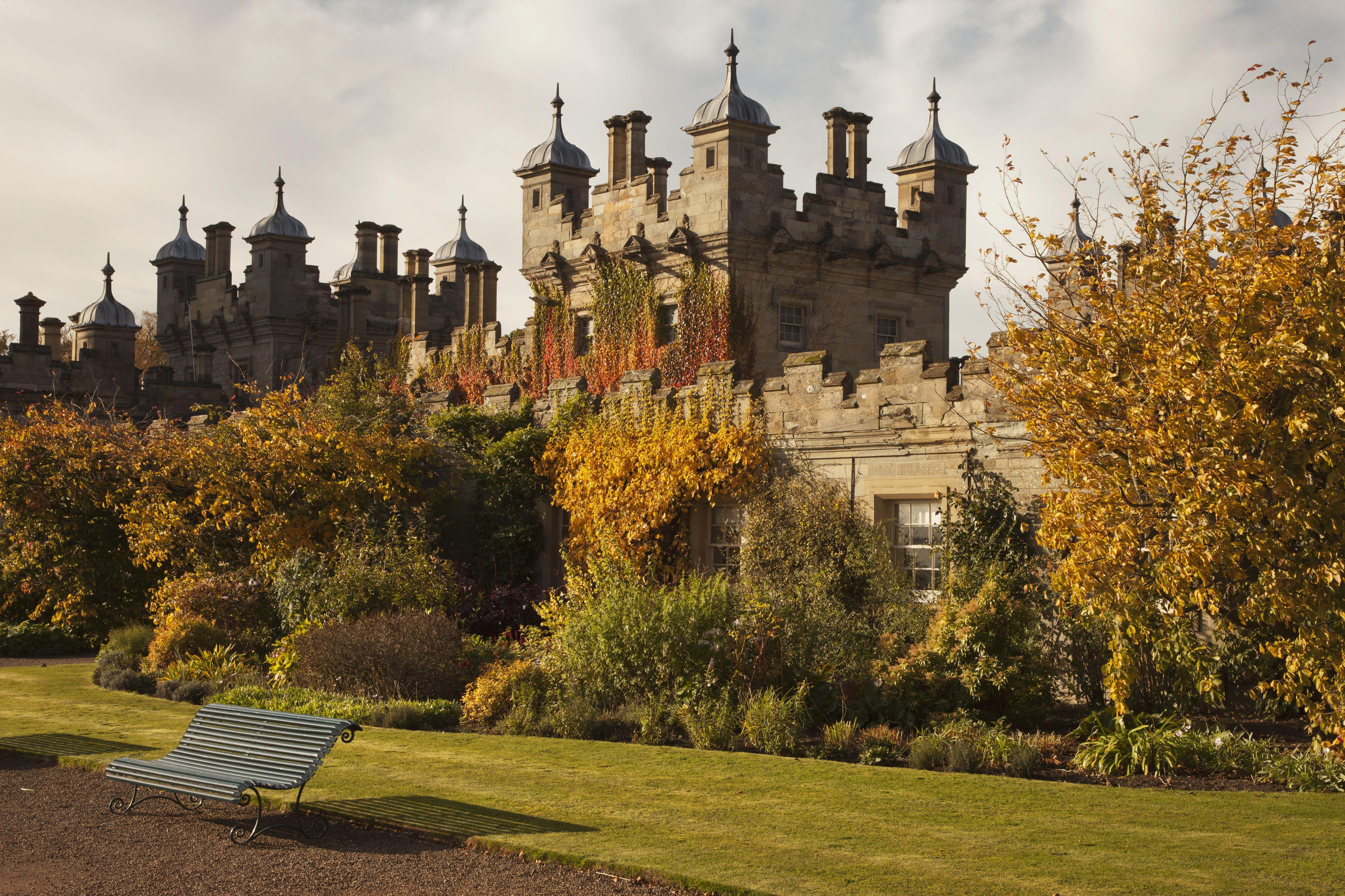 Floors Castle; Scottish Borders Scotland