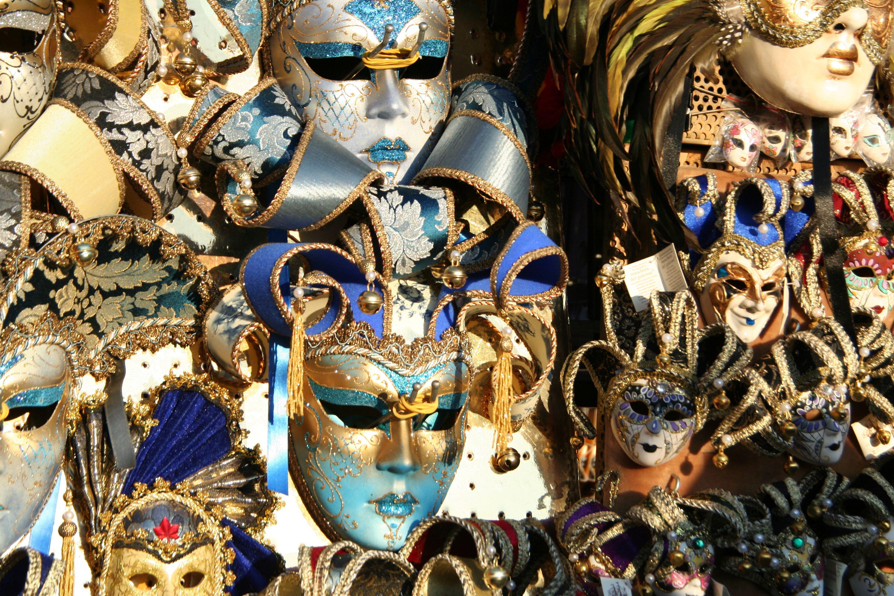 Multi-colored masks