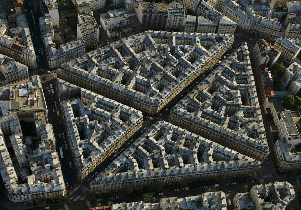 18th Arrondissement in Paris, France