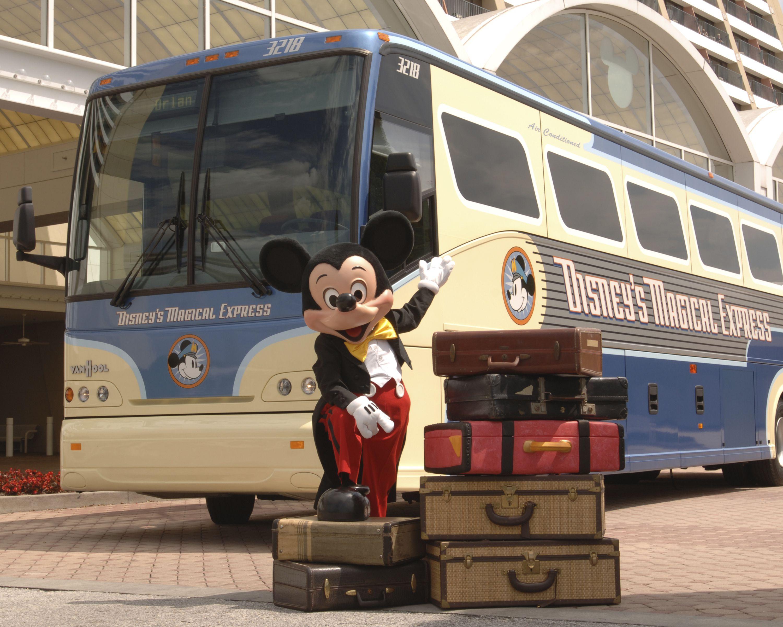 El expreso mágico en Walt Disney World