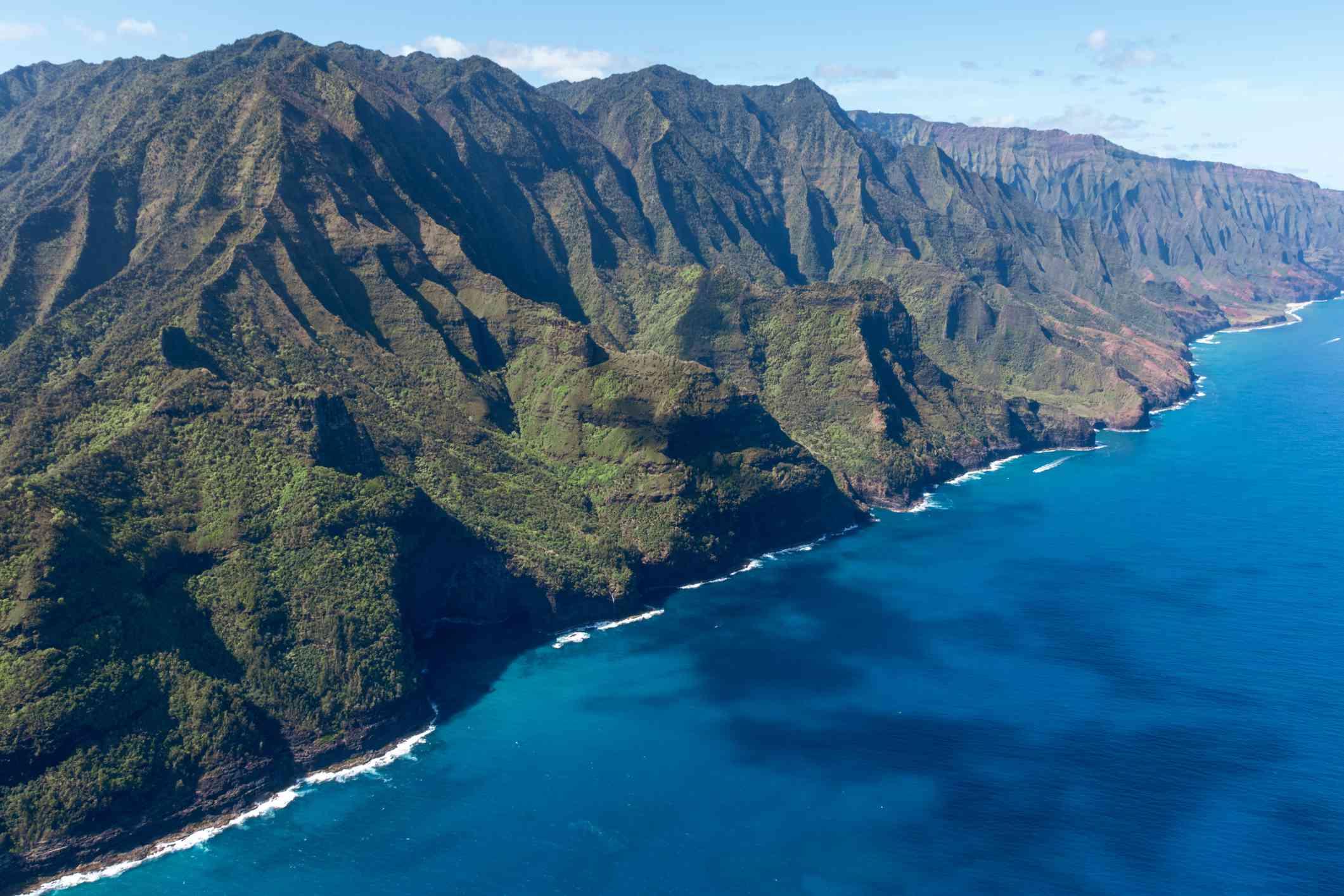 Nā Pali Coast, Kauai, Hawaii