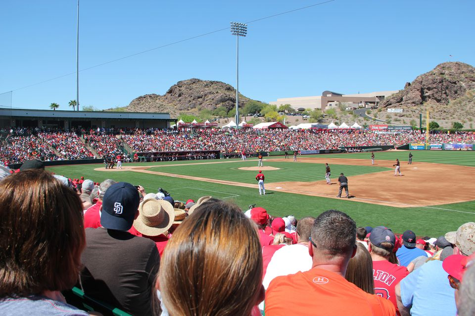 Tempe Diablo Stadium in Arizona