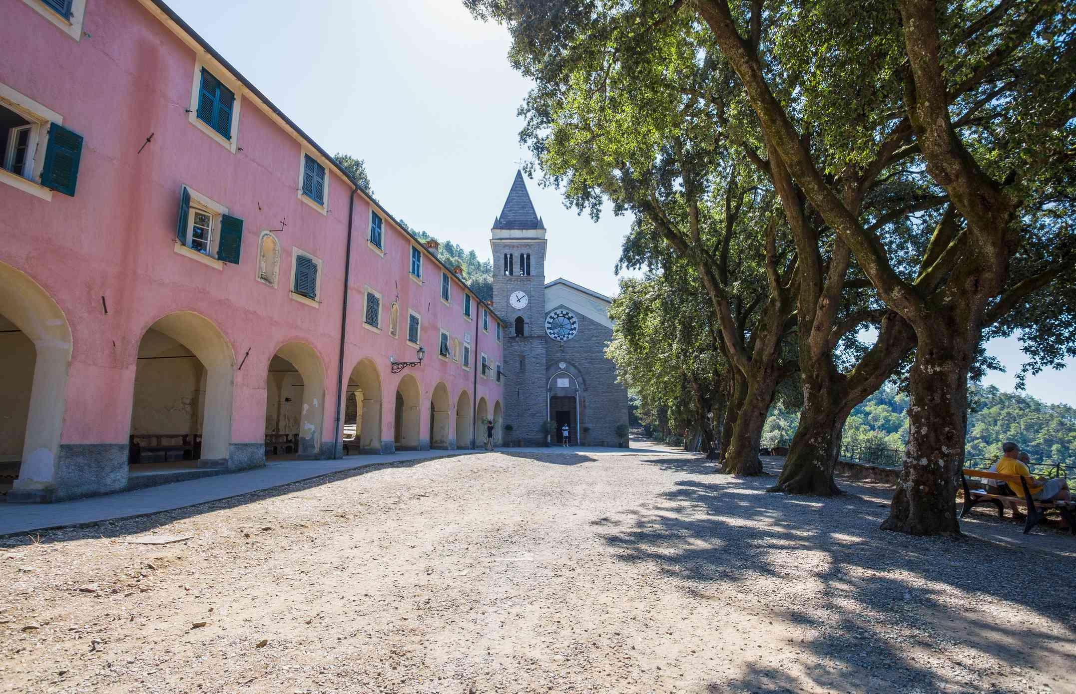 Sanctuary of Soviore at Monterosso