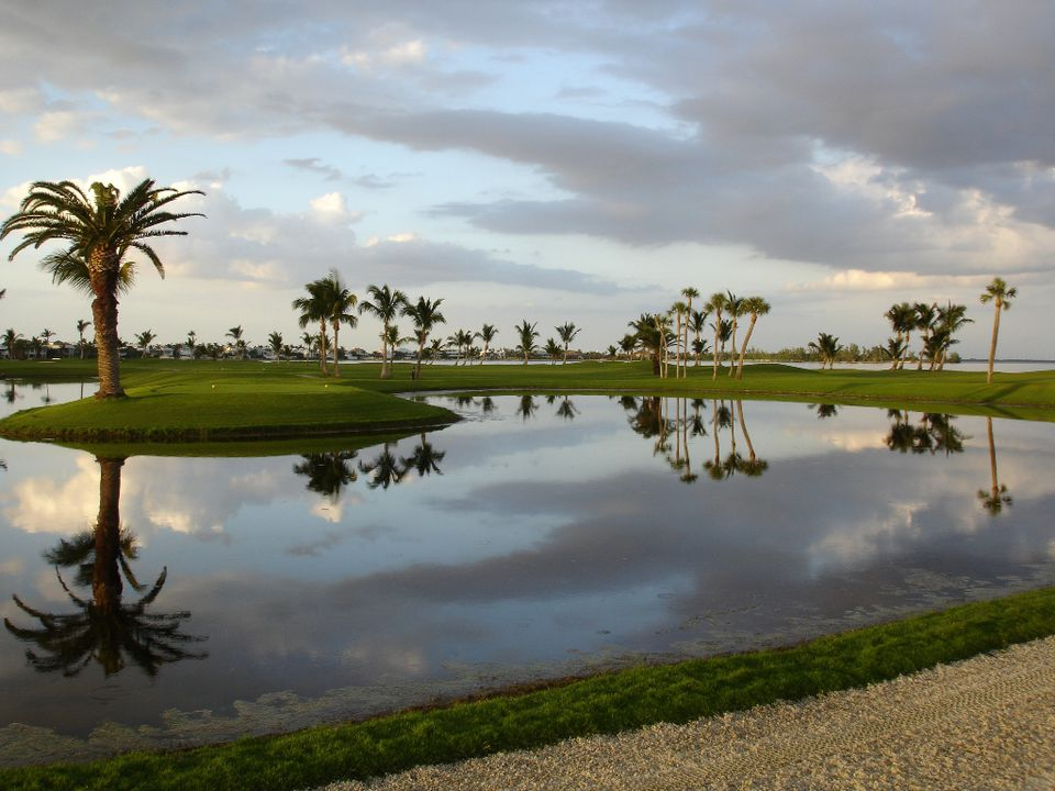 Photograph of the Gasparilla Inn Golf Course