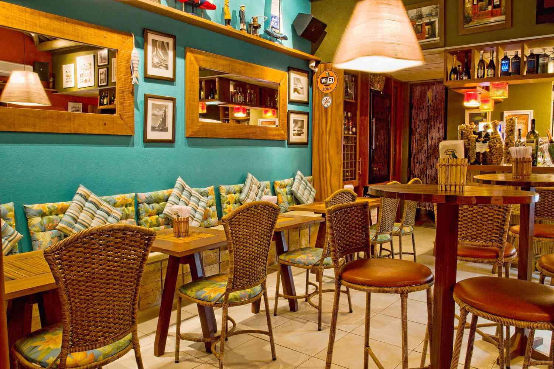 Cafe do Forte dining room