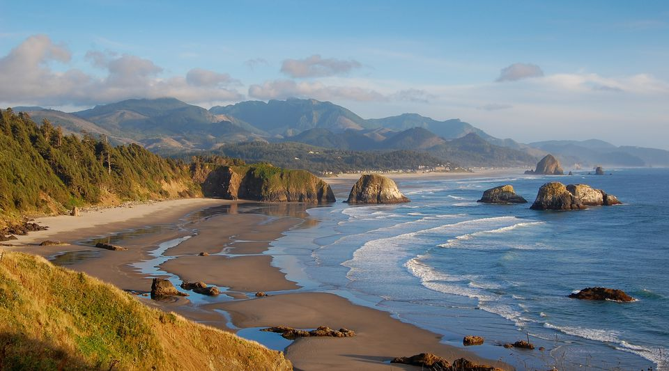 Cannon beach Oregon coast