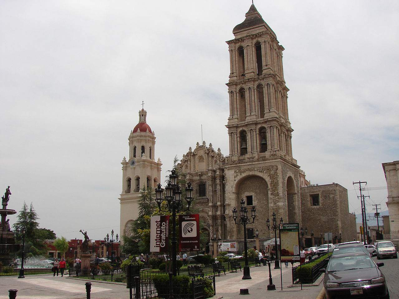 The Cathedral de Saltilla in Coahuila in Mexico