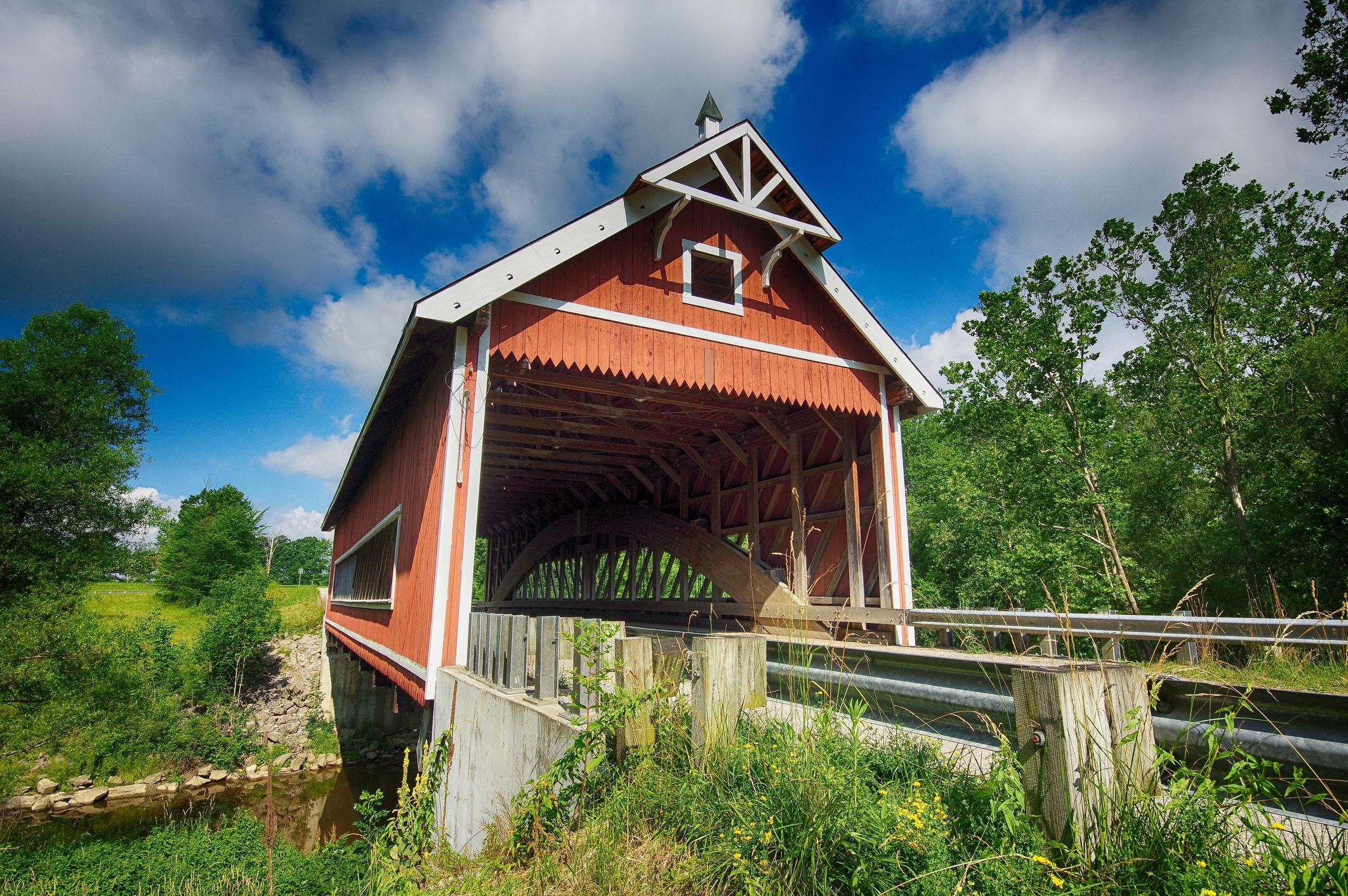 Netcher Road Covered Bridge