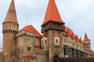 The Hunyad or Corvin Castle, Hunedoara, Transylvania, Romania