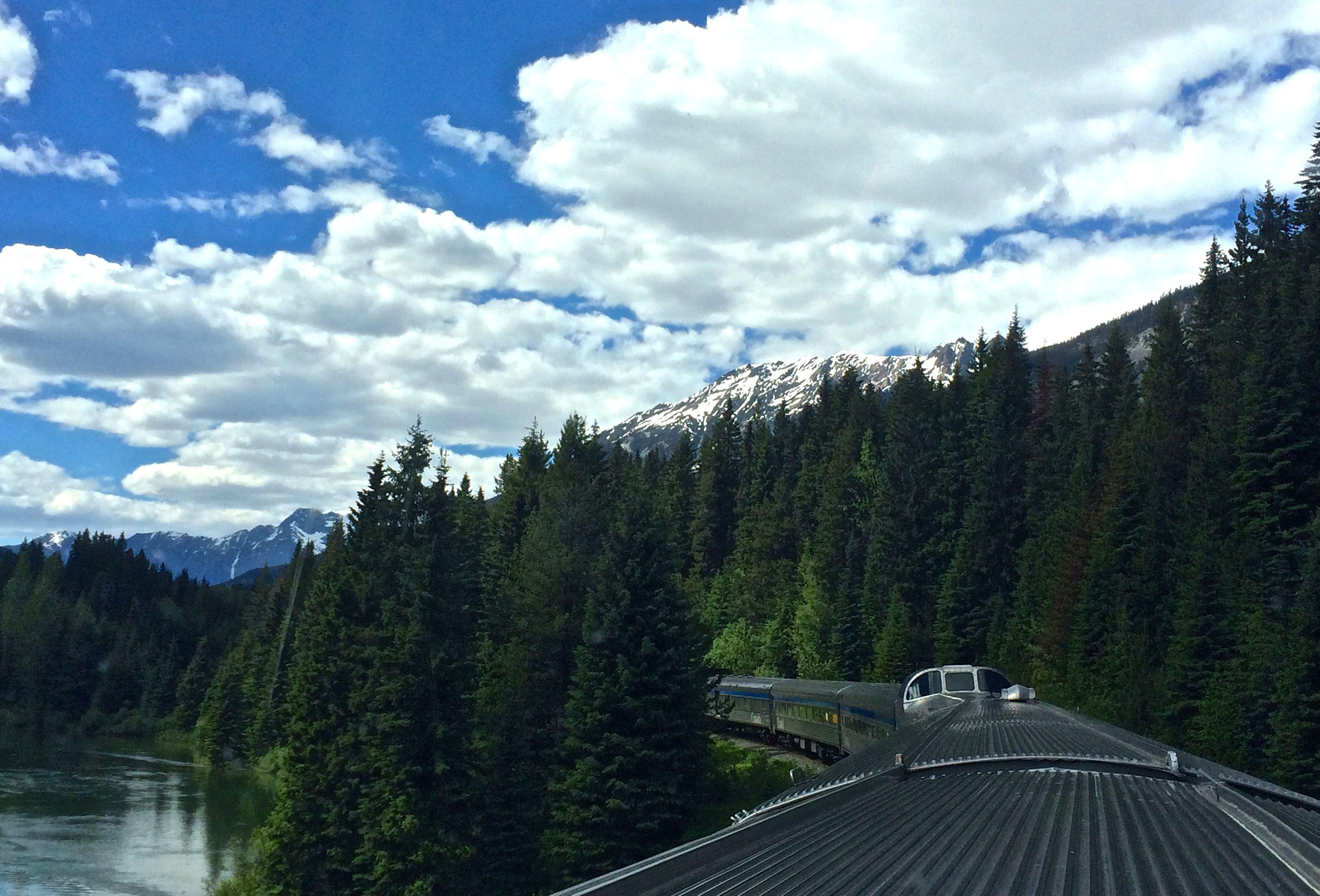 Jasper via rail
