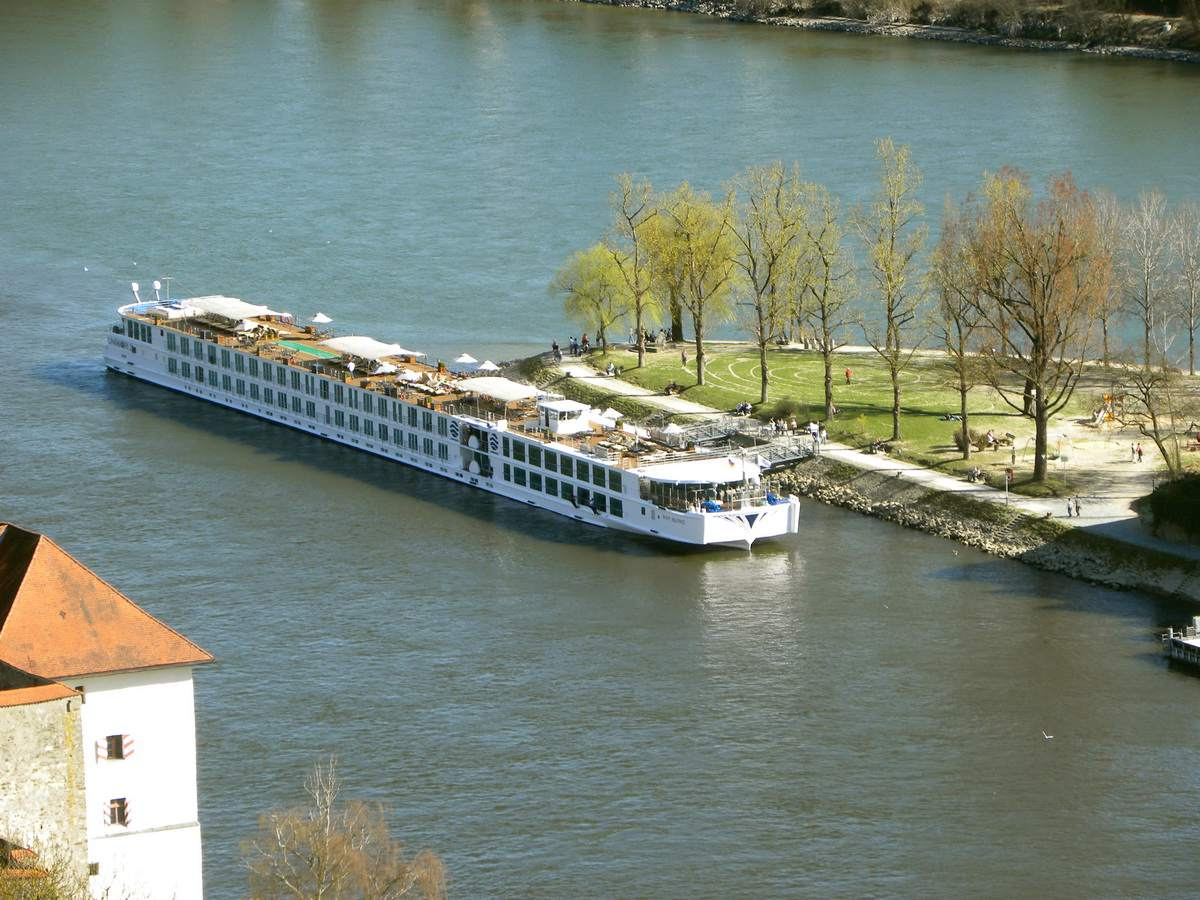 River Beatrice in Passau, Germany