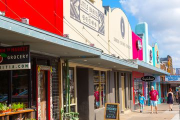 Storefronts on South Congress, the