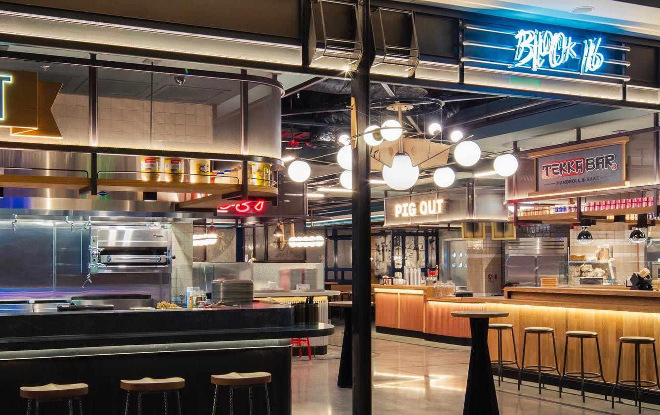 Block 16 Urban Food Hall at the Cosmopolitan of Las Vegas